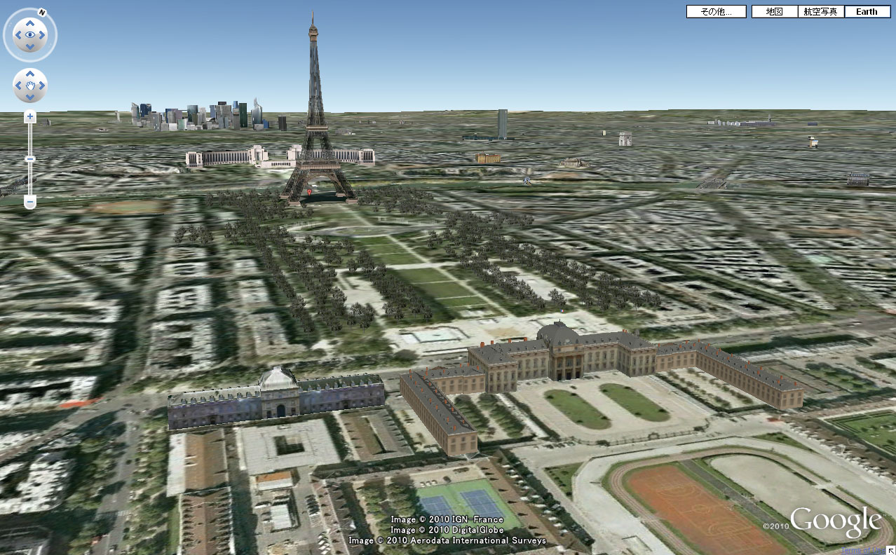 Google Earth Paris