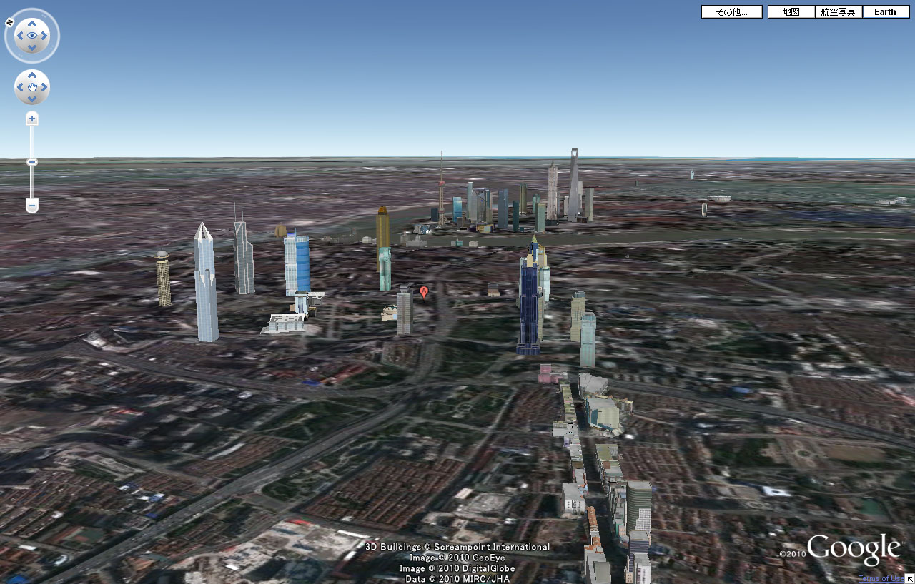 Google Earth上海