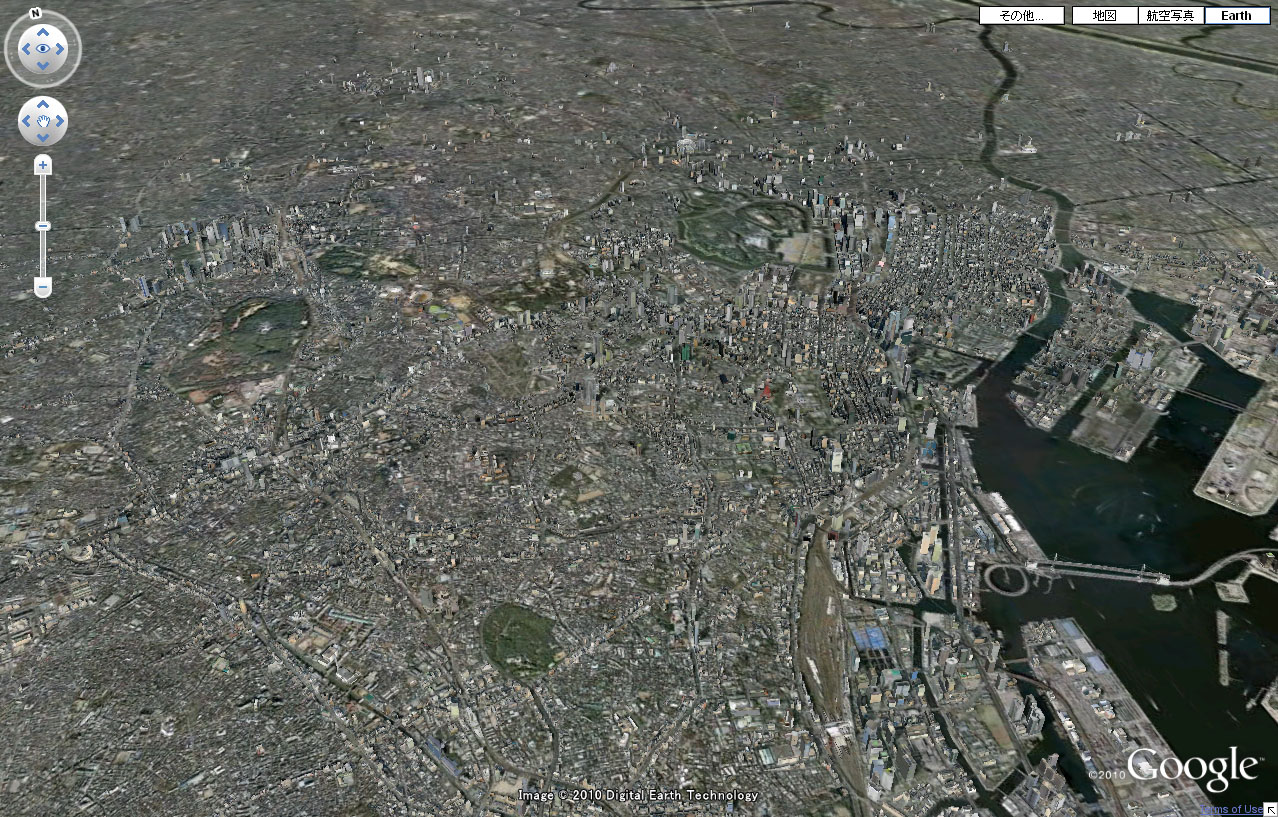 Google Earth東京